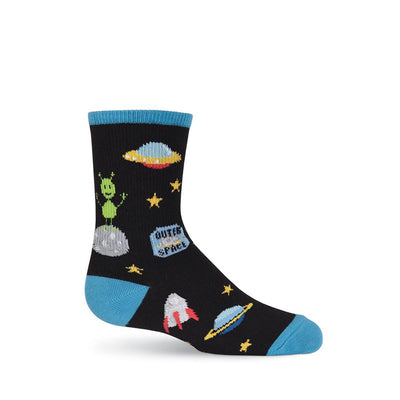 OUTER SPACE CREW SOCKS-BOY'S