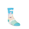 UNICORN MERMAID CREW SOCKS-GIRL'S