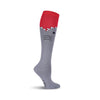 SHARK KNEE HIGH SOCKS-WOMEN'S
