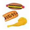 MEAT LOVERS COLLECTION SQUEAK FETCH DOG TOYS - Life Soleil