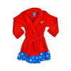 DC COMICS WONDER WOMAN VELVET FLEECE ROBE- GIRLS