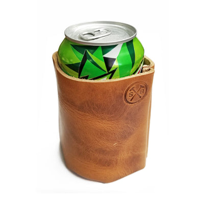 STURDY BROTHERS LEATHER CUP HOLDER