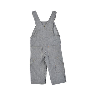 HICKORY RAILROAD STRIPE OVERALLS- TODDLERS