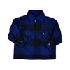 HICKORY BUFFALO PLAID ZIP SHIRT- TODDLERS - Life Soleil
