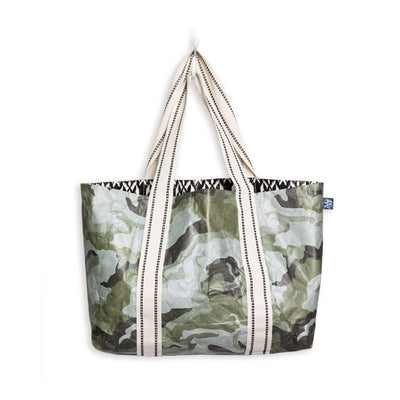 MIXT STUDIO REVERSIBLE TOTE IN OLIVE