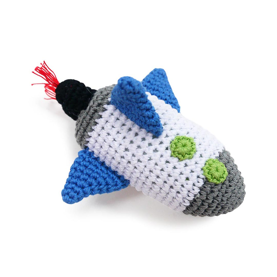 DOGO SPACESHIP DOG PLUSH TOY