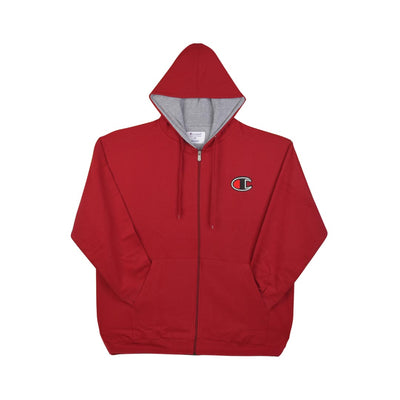 Champion Big Tall Mens Powerblend Fleece Zip Hood