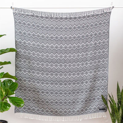 Sackcloth & Ashes Royale Blanket in Grey