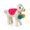 THE FOGGYDOG FELT LLAMA CAT TOY