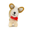 THE FOGGYDOG SNEAKERS THE CORGI FELT ORNAMENT