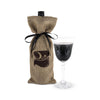 JUTE BAG WINE TASTING KIT