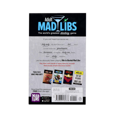 ODE TO ALCOHOL MAD LIBS: ADULT MAD LIBS - Life Soleil