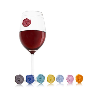 WAX SEAL WINE GLASS MARKERS - Life Soleil