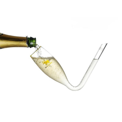 CHAMBONG: RAPID CHAMPAGNE CONSUMPTION GLASSES