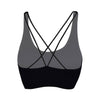 PUMA RIB KNIT CRISS CROSS BACK SPORTS BRA