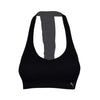 PUMA DANCE RUFFLED RACER BACK SPORTS BRA