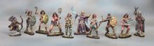 Load image into Gallery viewer, All 10 Female Amazons Miniatures Set