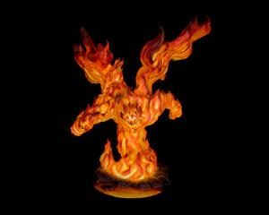 Large Fire Demon