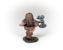Load image into Gallery viewer, Female Dwarven Barbarian