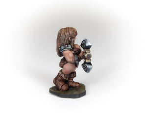 Female Dwarven Barbarian