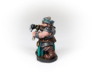 Dwarven Warrior w/two Axes