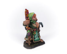 Load image into Gallery viewer, Female Dwarven Herbalist
