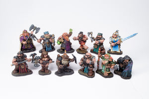 12 Dwarven Miniatures Set - Collection II