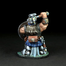 Load image into Gallery viewer, Dwarven Warrior w/War Hammer - Banrom Krumdor