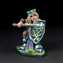 Load image into Gallery viewer, Female Dwarven Warrior w/Pike - Annora Gemtin