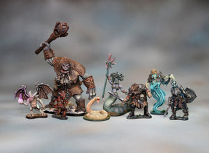 Entire Monster Set (37 miniatures)