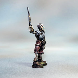 Skeletal Warrior with Long Sword