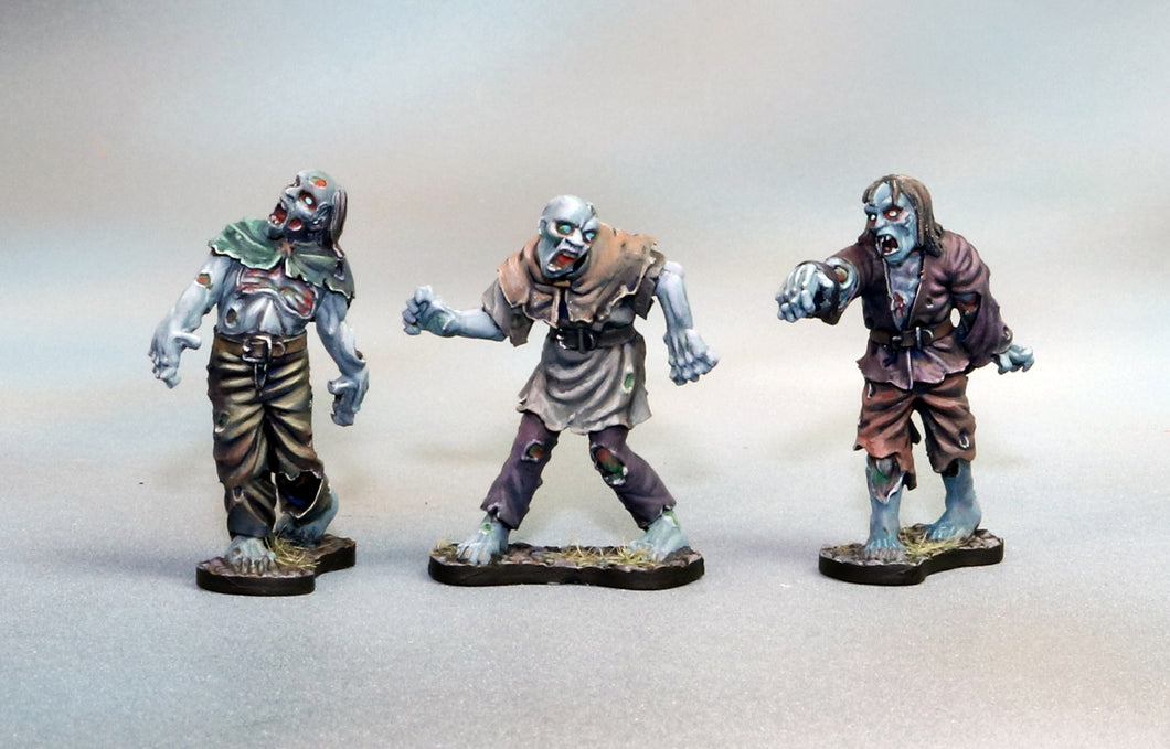 Complete Set of 3 Zombies