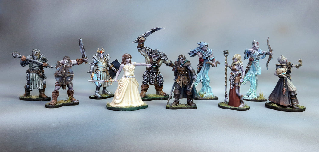 All 10 Vampire Miniatures Set