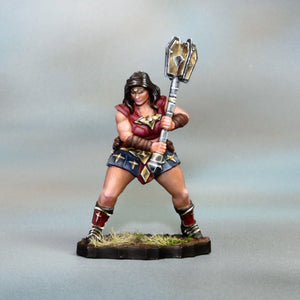 Female Amazon Warrior w/Mace