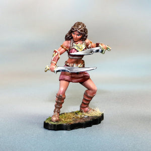 Female Amazon Warrior w/2 Swords