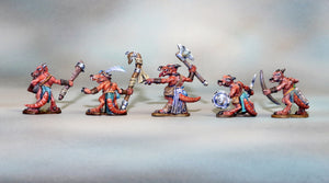 Complete Set of 6 Kobolds