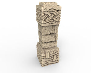 Dwarven Dungeon Accessory Piece - Dwarven Pillar  DDA9018
