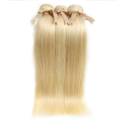 Brazilian Straight Hair 613 Honey Blonde Bundles