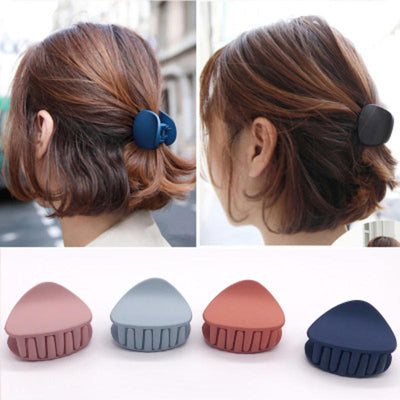 1PC  Women Hair Claw Solid Color