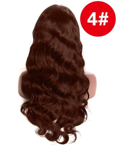 360 Lace Frontal Wig Pre Plucked With Baby Hair Brazilian Body Wave