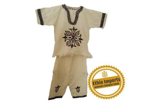 Boys Traditional Ethiopian cloth