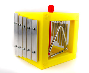 Music Box - Xylophone, Chime, Bell, Triangle Music Cube