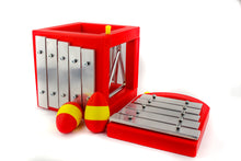 Xylophone, Chime, Bell, Triangle Music Cube