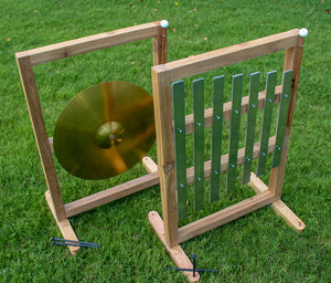 Sensory Wall Cymbal and Xylophone Set