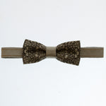 Bow Tie Diesel Grey - Pattern - The Maximus Man