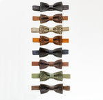Bow Tie Diesel Brown - Pattern - The Maximus Man