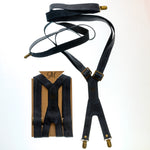 Suspenders - Midnight Blue - The Maximus Man