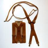 Suspenders - Tan - The Maximus Man