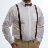 Suspenders - Diesel Brown - The Maximus Man