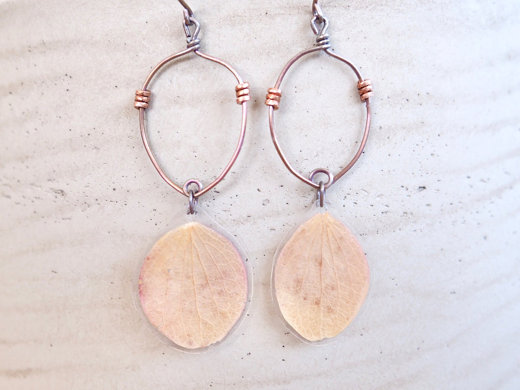 Petal Drip Drop Earrings